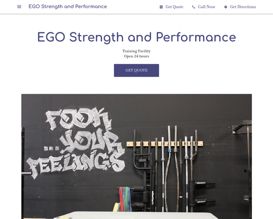 EGO Strength and Performance