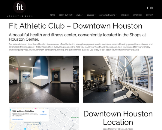 Fit Athletic (Downtown Houston)