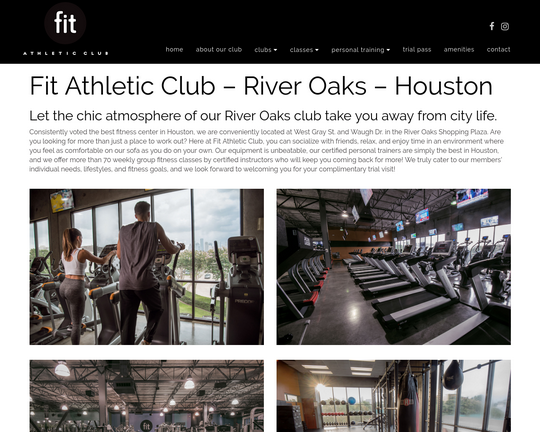 Fit Athletic (River Oaks, Houston)