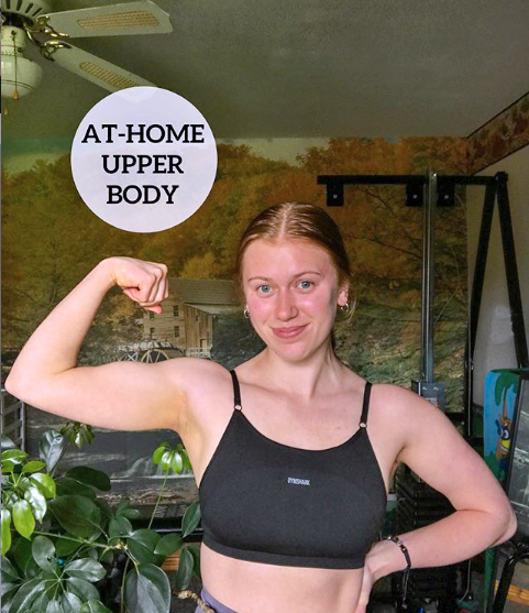 lady working out at home during covid-19